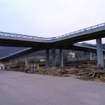 Zábralie na moste Lehôtka pod Brehmi, rýchlostná cesta R1